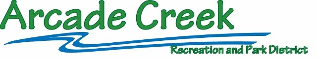 Sponsor Arcade Creek Recreation and Park Dist
