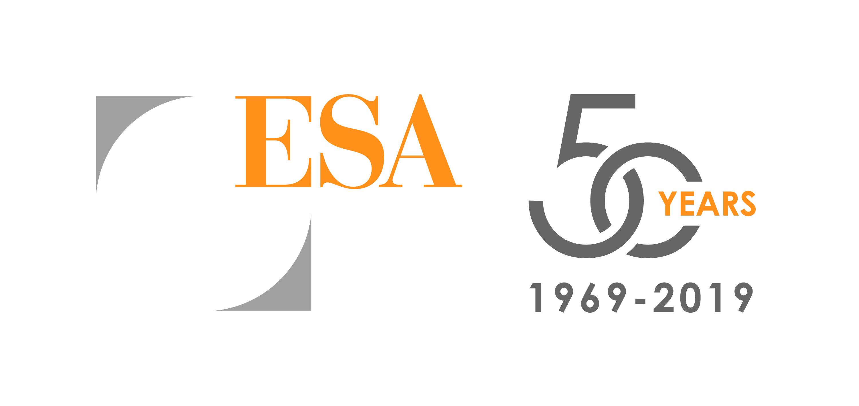 Sponsor Platinum ESA 50th Aniversary Logo